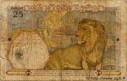 25 Francs AFRIQUE OCCIDENTALE FRANÇAISE (1895-1958)  1938 P.22 B
