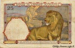 25 Francs AFRIQUE OCCIDENTALE FRANÇAISE (1895-1958)  1939 P.22 TB