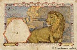 25 Francs type 1933 AFRIQUE OCCIDENTALE FRANÇAISE (1895-1958)  1939 P.22 TTB