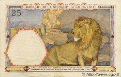 25 Francs AFRIQUE OCCIDENTALE FRANÇAISE (1895-1958)  1939 P.22 TTB+