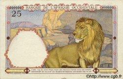25 Francs type 1933 AFRIQUE OCCIDENTALE FRANÇAISE (1895-1958)  1936 P.22s SPL