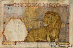 25 Francs AFRIQUE OCCIDENTALE FRANÇAISE (1895-1958)  1942 P.27 B+