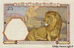 25 Francs type 1933 AFRIQUE OCCIDENTALE FRANÇAISE (1895-1958)  1942 P.27 SUP à SPL