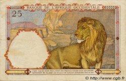 25 Francs type 1933 AFRIQUE OCCIDENTALE FRANÇAISE (1895-1958)  1942 P.27 TTB