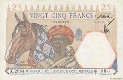 25 Francs type 1933 AFRIQUE OCCIDENTALE FRANÇAISE (1895-1958)  1942 P.27 SUP