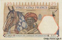 25 Francs AFRIQUE OCCIDENTALE FRANÇAISE (1895-1958)  1942 P.27 SPL