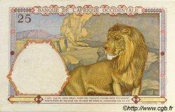 25 Francs type 1933 AFRIQUE OCCIDENTALE FRANÇAISE (1895-1958)  1942 P.27 SPL