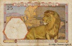 25 Francs AFRIQUE OCCIDENTALE FRANÇAISE (1895-1958)  1942 P.27 TB