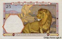 25 Francs type 1933 AFRIQUE OCCIDENTALE FRANÇAISE (1895-1958)  1942 P.27 pr.NEUF