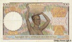 100 Francs type 1936 AFRIQUE OCCIDENTALE FRANÇAISE (1895-1958)  1936 P.23 TTB+
