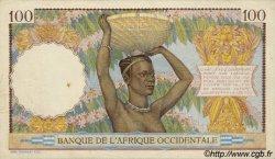 100 Francs type 1936 AFRIQUE OCCIDENTALE FRANÇAISE (1895-1958)  1936 P.23s SUP+