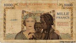 1000 Francs type 1937 AFRIQUE OCCIDENTALE FRANÇAISE (1895-1958)  1941 P.24 B