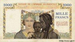 1000 Francs type 1937 AFRIQUE OCCIDENTALE FRANÇAISE (1895-1958)  1945 P.24 pr.TTB