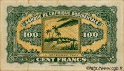 100 Francs AFRIQUE OCCIDENTALE FRANÇAISE (1895-1958)  1942 P.31a pr.TTB