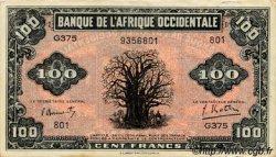 100 Francs type 1942 AFRIQUE OCCIDENTALE FRANÇAISE (1895-1958)  1942 P.31a pr.SUP