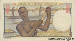 5 Francs type 1943 AFRIQUE OCCIDENTALE FRANÇAISE (1895-1958)  1943 P.36 SUP+