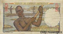 5 Francs type 1943 AFRIQUE OCCIDENTALE FRANÇAISE (1895-1958)  1948 P.36 pr.TTB