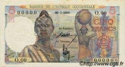5 Francs type 1943 AFRIQUE OCCIDENTALE FRANÇAISE (1895-1958)  1943 P.36s SPL+