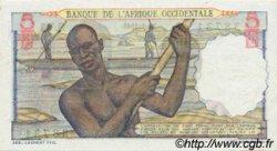 5 Francs type 1943 AFRIQUE OCCIDENTALE FRANÇAISE (1895-1958)  1948 P.36 pr.NEUF