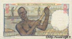 5 Francs AFRIQUE OCCIDENTALE FRANÇAISE (1895-1958)  1948 P.36 TTB