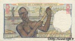 5 Francs AFRIQUE OCCIDENTALE FRANÇAISE (1895-1958)  1948 P.36 SUP
