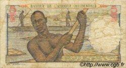 5 Francs type 1943 AFRIQUE OCCIDENTALE FRANÇAISE (1895-1958)  1949 P.36 B+
