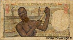 5 Francs type 1943 AFRIQUE OCCIDENTALE FRANÇAISE (1895-1958)  1951 P.36 B+