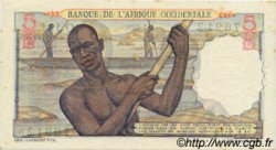 5 Francs type 1943 AFRIQUE OCCIDENTALE FRANÇAISE (1895-1958)  1951 P.36 SUP