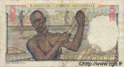 5 Francs type 1943 AFRIQUE OCCIDENTALE FRANÇAISE (1895-1958)  1951 P.36 pr.TTB