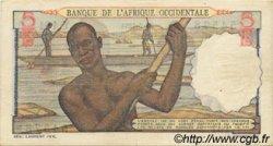 5 Francs type 1943 AFRIQUE OCCIDENTALE FRANÇAISE (1895-1958)  1953 P.36 SUP