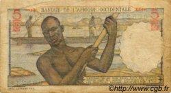 5 Francs type 1943 AFRIQUE OCCIDENTALE FRANÇAISE (1895-1958)  1953 P.36 B
