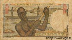 5 Francs AFRIQUE OCCIDENTALE FRANÇAISE (1895-1958)  1954 P.36 TB
