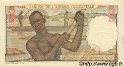 5 Francs AFRIQUE OCCIDENTALE FRANÇAISE (1895-1958)  1954 P.36 SUP+
