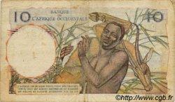 10 Francs type 1946 AFRIQUE OCCIDENTALE FRANÇAISE (1895-1958)  1946 P.37 B