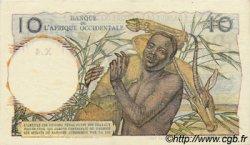 10 Francs type 1946 AFRIQUE OCCIDENTALE FRANÇAISE (1895-1958)  1946 P.37 SUP