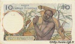 10 Francs type 1946 AFRIQUE OCCIDENTALE FRANÇAISE (1895-1958)  1946 P.37 SPL