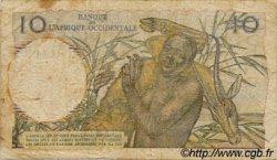 10 Francs AFRIQUE OCCIDENTALE FRANÇAISE (1895-1958)  1948 P.37 B+