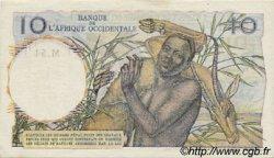10 Francs type 1946 AFRIQUE OCCIDENTALE FRANÇAISE (1895-1958)  1948 P.37 SUP+
