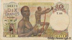 10 Francs type 1946 AFRIQUE OCCIDENTALE FRANÇAISE (1895-1958)  1949 P.37 B