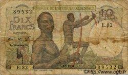 10 Francs type 1946 AFRIQUE OCCIDENTALE FRANÇAISE (1895-1958)  1950 P.37 B
