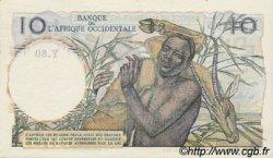 10 Francs type 1946 AFRIQUE OCCIDENTALE FRANÇAISE (1895-1958)  1950 P.37 pr.NEUF