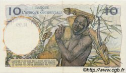 10 Francs type 1946 AFRIQUE OCCIDENTALE FRANÇAISE (1895-1958)  1953 P.37 SPL