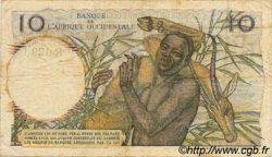 10 Francs type 1946 AFRIQUE OCCIDENTALE FRANÇAISE (1895-1958)  1954 P.37 TB à TTB