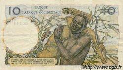 10 Francs type 1946 AFRIQUE OCCIDENTALE FRANÇAISE (1895-1958)  1954 P.37 TTB+