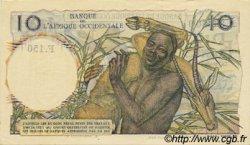 10 Francs type 1946 AFRIQUE OCCIDENTALE FRANÇAISE (1895-1958)  1954 P.37 SPL
