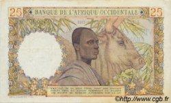 25 Francs type 1943 AFRIQUE OCCIDENTALE FRANÇAISE (1895-1958)  1943 P.38 pr.SUP