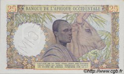 25 Francs type 1943 AFRIQUE OCCIDENTALE FRANÇAISE (1895-1958)  1943 P.38s pr.NEUF