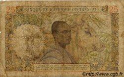 25 Francs AFRIQUE OCCIDENTALE FRANÇAISE (1895-1958)  1948 P.38 B