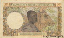 25 Francs type 1943 AFRIQUE OCCIDENTALE FRANÇAISE (1895-1958)  1951 P.38 TB+