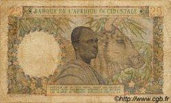 25 Francs type 1943 AFRIQUE OCCIDENTALE FRANÇAISE (1895-1958)  1953 P.38 B